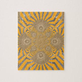 Lovely Edgy  amazing symmetrical pattern design Jigsaw Puzzle