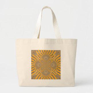 Lovely Edgy  amazing symmetrical pattern design Large Tote Bag