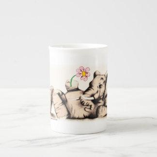 Lovely Elephant Tea Cup