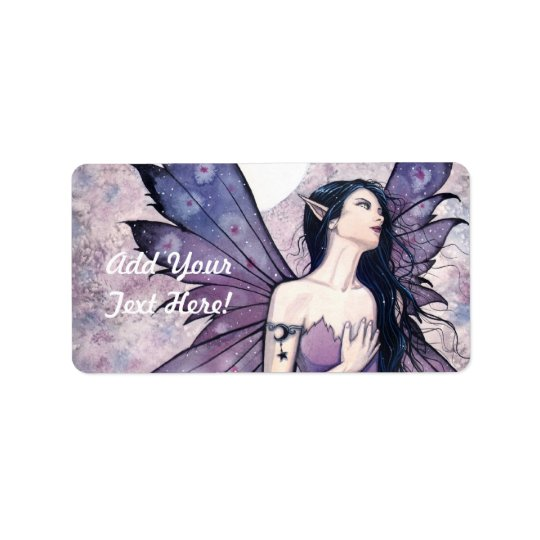 Lovely Fairy Address Labels Gift Tags