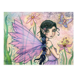 Lovely Fairy Butterfly Postcard by Molly Harrison
