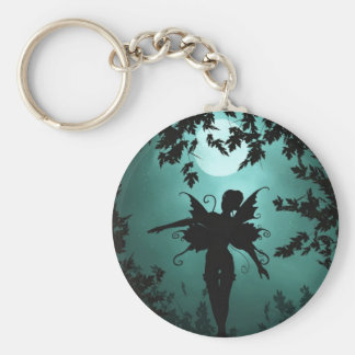 Lovely Fairy Siluetts Key Ring
