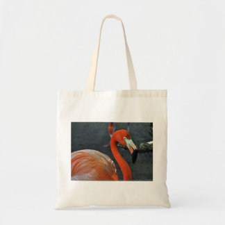 Lovely Flamingo Canvas Tote Bags