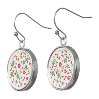 lovely floral 415A (I) Earrings