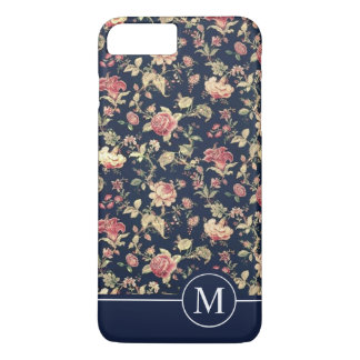 Lovely Floral Shower Monogram | Phone Case