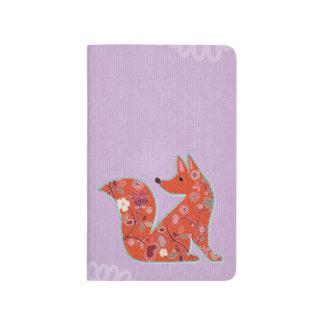 Lovely Fox Mandala Pocket Journal
