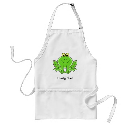Lovely Frog Apron