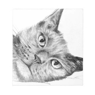 Lovely George pencil drawing artistic notebook Notepad