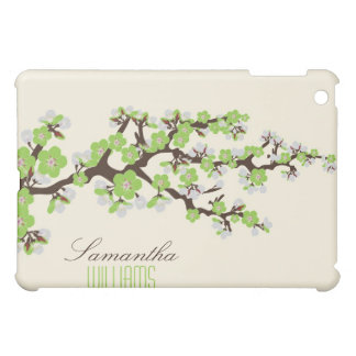 Lovely Green Cherry Blossom  iPad Mini Covers