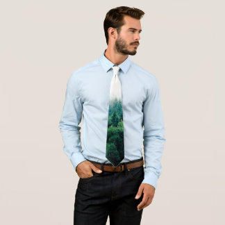 Lovely Green Forest Wild and Free Tie