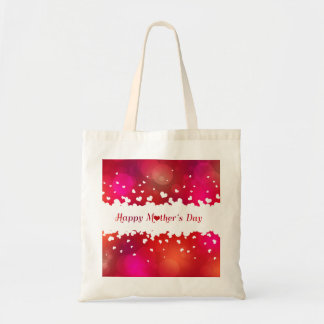 Lovely Happy Mother's Day Hearts - Budget Tote