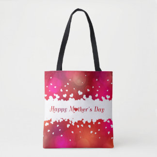 Lovely Happy Mother's Day Hearts - Tote Bag