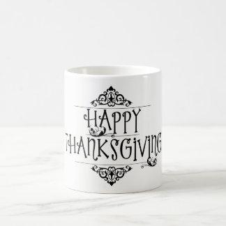 Lovely Happy Thanksgiving Classic Mug