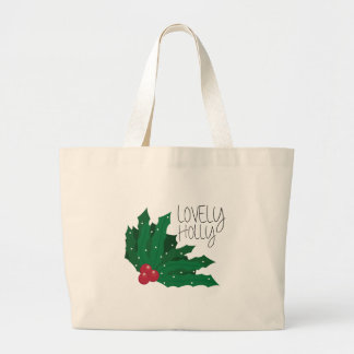 Lovely Holly Canvas Bags