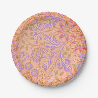 Lovely in Lavender Paper Plates 7 Inch Paper Plate