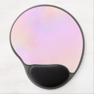Lovely Interwoven Shades of Pastel Gel Mouse Pad