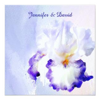 Lovely Iris Wedding Invitation