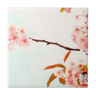 Lovely Japanese cherry blossom Ceramic Tile