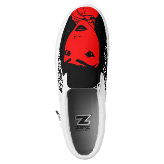 Lovely Lady Slip Ons Printed Shoes