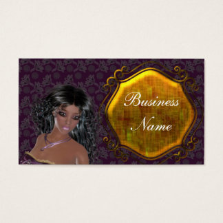 Lovely Lady Vintage 2 Themed Business Cards