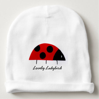 'Lovely Ladybird' Baby Beanie Hat