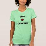 Lovely Ladybug The Ladybug Ladies Petite T-Shirt 1