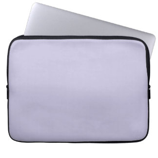Lovely Lavender Purple Color Trend Blank Template Computer Sleeves