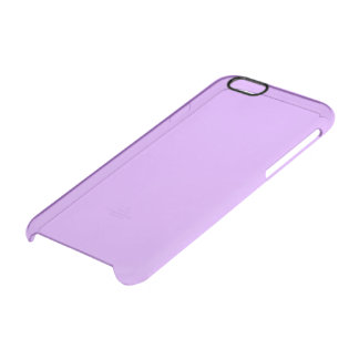 Lovely Lilac Solid Colour Clear iPhone 6/6S Case
