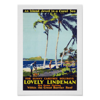 Lovely Lindeman Poster