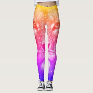 Lovely Lion Colorful Leggings