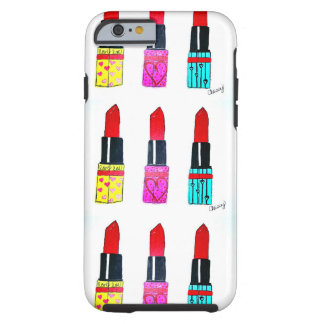 Lovely lipstick iPhone case Tough iPhone 6 Case