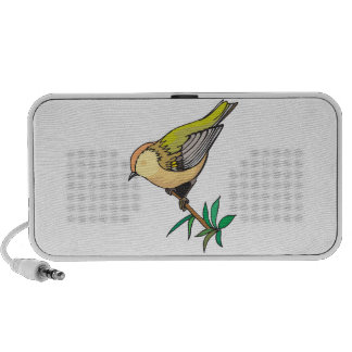 lovely little goldfinch bird portable speakers