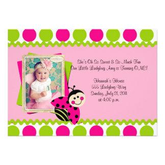 Lovely Little Ladybug Invite