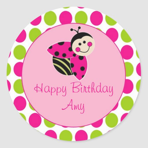 Lovely Little Ladybug Sticker