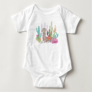 Lovely Llamas I Baby Bodysuit