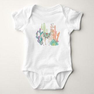 Lovely Llamas II Baby Bodysuit