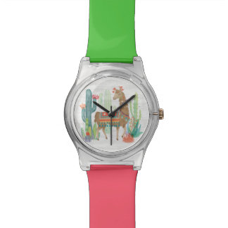 Lovely Llamas III Watch