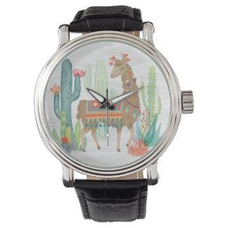 Lovely Llamas III Watch