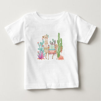 Lovely Llamas IV Baby T-Shirt