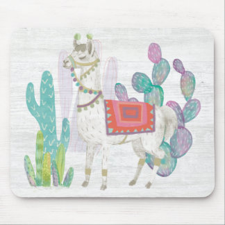 Lovely Llamas V Mouse Pad