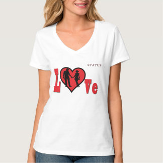 lovely looking ladies t-shirt