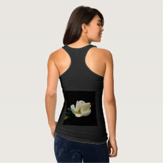 LOVELY LOTUS LADY SLIM FIT RUNNERS TANK