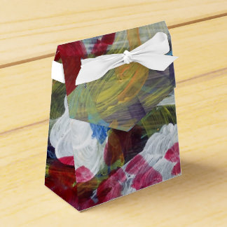 Lovely Magic Abstract Expressive Design Favour Box