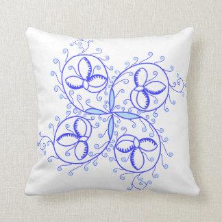 Lovely mediaeval illumination flower CC0966 Cushion