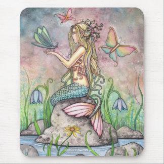 Lovely Mermaid Mousepad by Molly Harrison