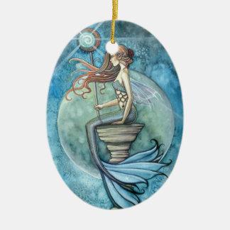 Lovely Mermaid Ornament Jade Moon