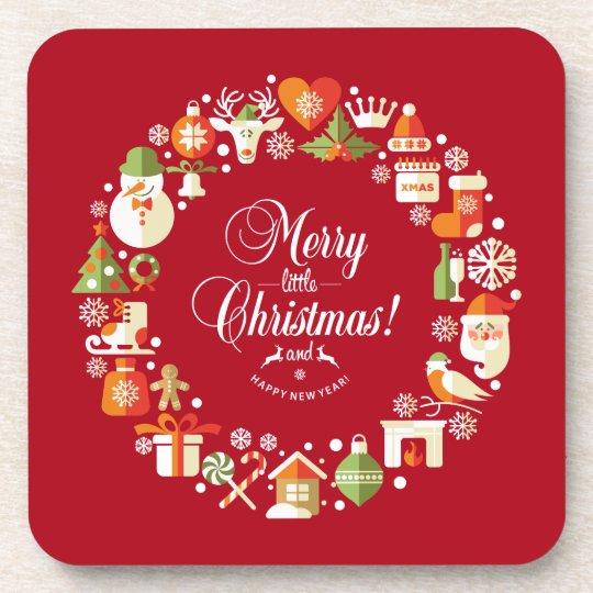 Lovely Merry Little Christmas | Coaster