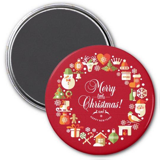 Lovely Merry Little Christmas | Magnet