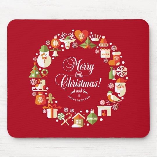 Lovely Merry Little Christmas | Mousepad
