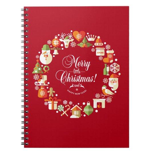 Lovely Merry Little Christmas |  Notebook